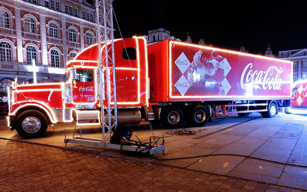 Coca Cola kersttruck