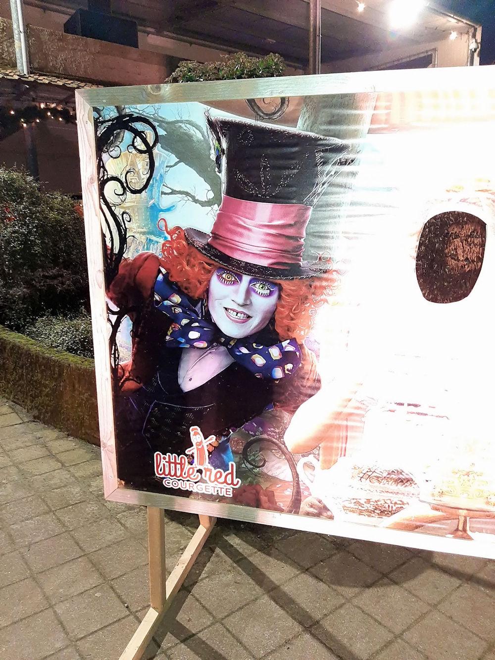 Midwinter nacht Alice in Wonderland